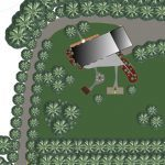An image from our 3D landscaping software
