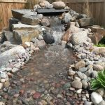 Water Feature with Stream